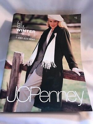 VINTAGE 1993 JC PENNEY FALL WINTER CATALOG FASHION WEDDING GOWNS CLOTHES (Box A)