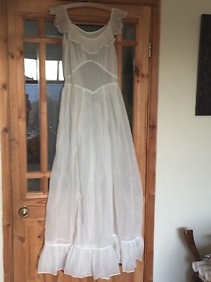 Vintage Kayser Bondor Nightdress/nighty 1960's/50's Cream Poss Wedding Night?