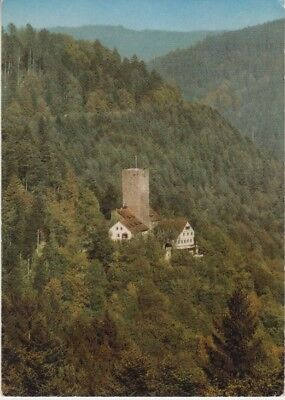 Germany (W) - Castle Liebenzell, Black Forest (Post Card) 1960's
