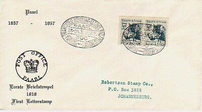 South Africa - 300th Anniv. of Paarl & National Stamp Exhibition (SC) 1957