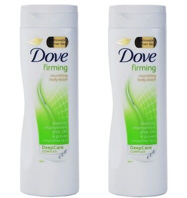 2x Dove BODY LOTION Firming 250ml