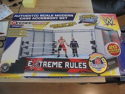 Authentic Scale modern Cage Accessory Set (Käfig für WWE Ring)