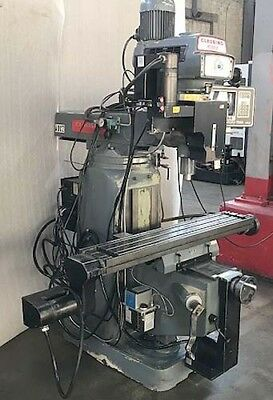 Clausing Kondia FV-1 Bridgeport Style 3-Axis CNC Mill with SWI MX-3 Proto Trak