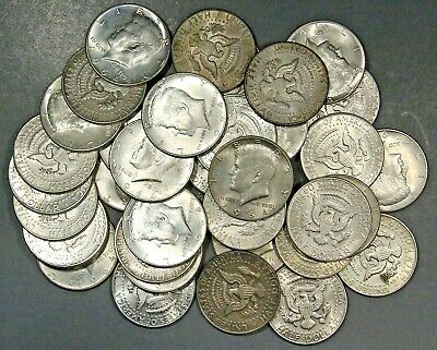 $10 Face Value 1964 P &d Kennedy Half Dollars 90% Silver Coins (Lot Of 20 Coins)