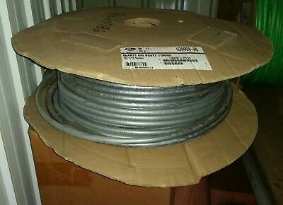 "200 feet GATES H30090-08 8NABTS 1/2"" AIR BRAKE TUBING SILVER NEW 200 FT ROLL"
