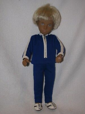 "16"" Blonde Haired Sasha/Gregory Boy Doll"