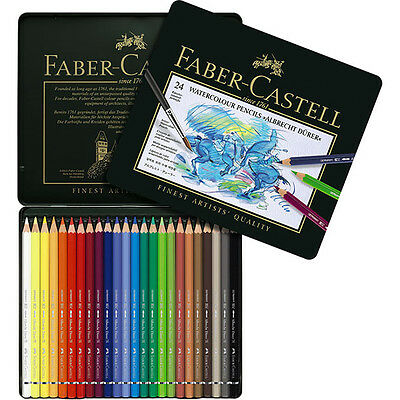 Faber-Castell - Albrecht Durer Watercolor Pencils - Tin of 24