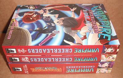 Vampire Cheerleaders Vol. 1-2,3,4 Manga Graphic Novels Complete Set English