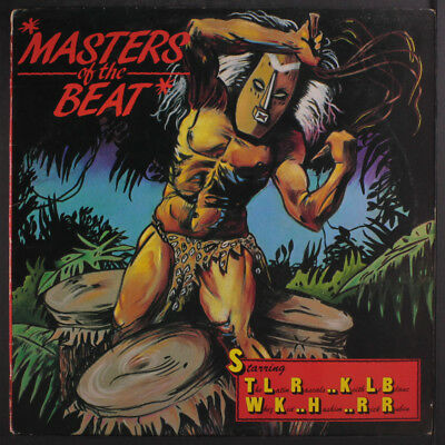 VARIOUS: Masters Of The Beat LP (PC, some cw, cover crease) Rap/Hip-Hop