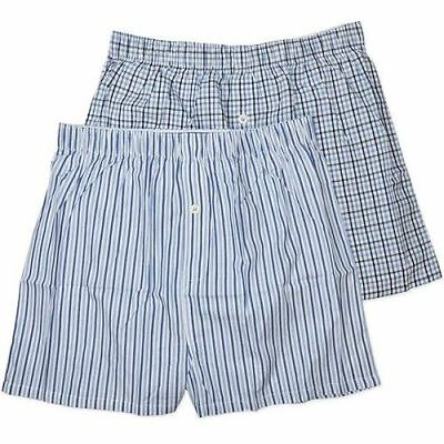 New Mens Coast Blue 100 % Cotton Boxer Short Pant Size M,l,xl