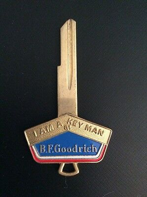 "RARE VINTAGE B. F. GOODRICH KEY Vintage Advertising ""I Am A Key Man"""