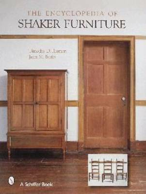 Encyclopedia Shaker Furniture Book Table Chair Cabinet