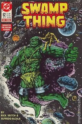 Swamp Thing (2nd Series) #62 1987 VF Stock Image