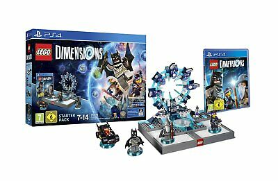 Lego Dimensions - Starter Pack PS4 PLAYSTATION 4 New Boxed