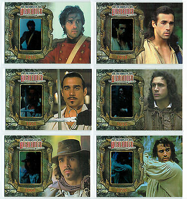 The Complete Highlander Complete Set Of 6 Wandered Cards