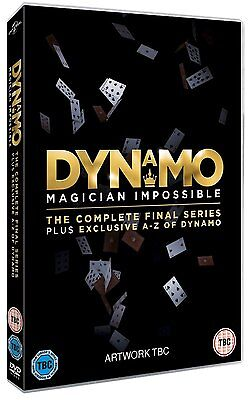 Dynamo: Magician Impossible Series 4 [DVD] *NEU* / Magier / Final and A-Z of