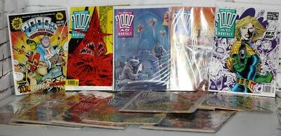JOB LOT COLLECTION  OF 18  2000AD BEST OF MONTHLY  NEW OLD STOCK -free postage-