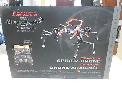 Spider-Man Streaming Video Spider-Drone