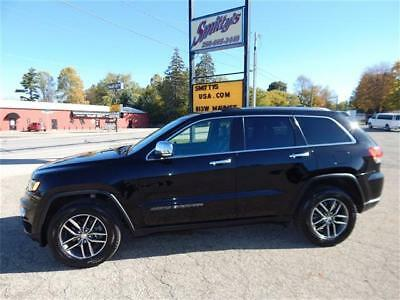 2017 Jeep Grand Cherokee Limited 2017 Jeep Grand Cherokee Limited 4x4 Full Factory Warranty Navi Pano Roof Carfax