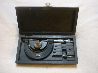 "Moore & Wright Engineers 0 - 2"" Outside Micrometer."