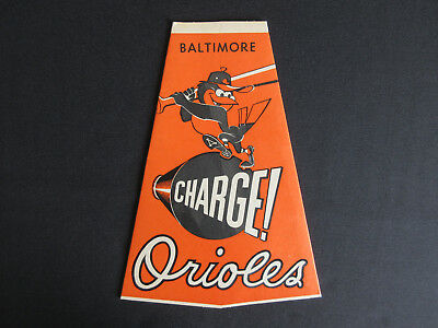 1960's Baltimore Orioles NATIONAL BEER New/Old Stock Megaphone MINT