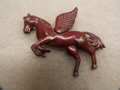 Vintage Mobil Gas/Oil Flying Pegasus PIN LARGE