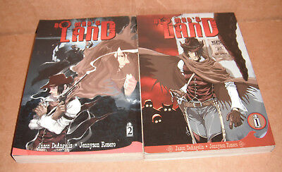 No Man's Land Vol.1,2 Manga Graphic Novels Complete Set English