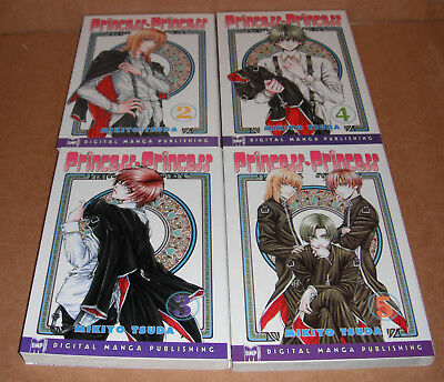 Princess Princess Vol. 2,3,4,5 Manga Graphic Novels Complete Set English
