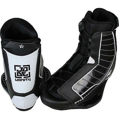 Jobe Vanity Lace Up Wakeboard Boot Bindings Size 5 - 14