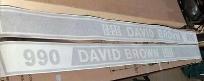 Case David Brown 990 Decals. Hood Only. Great Quality Decals.