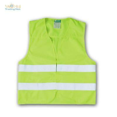 High Visibility Vest Neon Yellow Accident Safety Warning Car EN 471 Breakdown