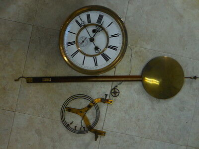 Vienna Regulator Clock Project for Large 2 Weight German Wall Clock