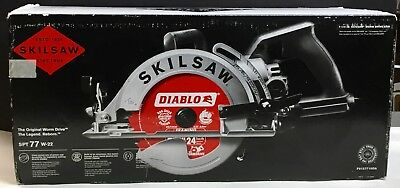 SKILSAW SPT77W-22 7-1/4 in Aluminum Worm Drive Circular Saw- Brand New in Box