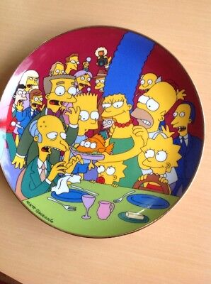The Simpsons Limited Edition Collector Plate: Three-Eyed Fish