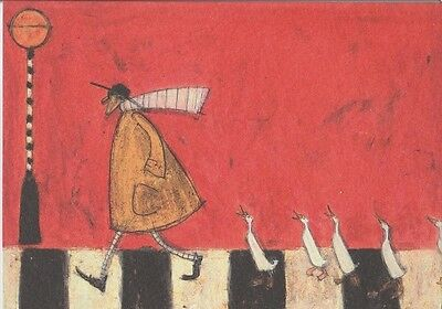 Sam toft greeting card crossing with ducks 295 picclick uk sam toft greeting card crossing with ducks m4hsunfo