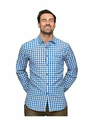Stockerpoint Traditional Shirt Shirt Checkered Mitchel Azure