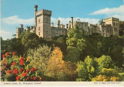 Ireland - Lismore Castle, County Waterford (Post Card) 1960's