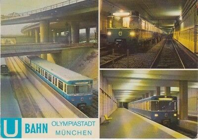 Germany (W) - Bahnnof North Subway Station, Munich (Post Card) 1970's