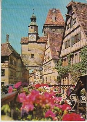 Germany (W) - Famous Historical Township of Rothenburg (Post Card) 1960's