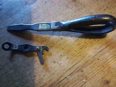 Vincent Hrd Toolkit Items - Pennant Screwdriver And Magneto Spanner