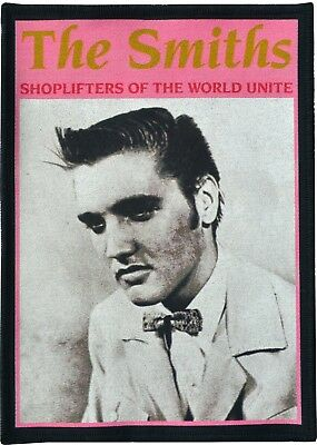 The Smiths Black Cotton Patch Shoplifters Of The World Unite Morrissey British