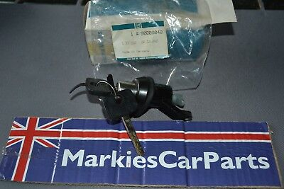 Vauxhall Cavalier 82-88 Tailgate lock barrel & 2 keys New genuine 90008048