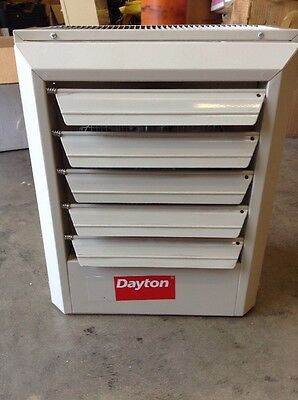 Dayton 5kW Electric Unit Heater, 3-Phase, 480V, 2YU63