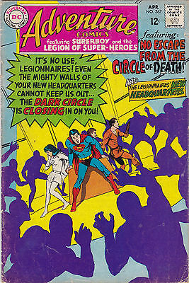 Adventure Comics #367 Fine+ To F/vf