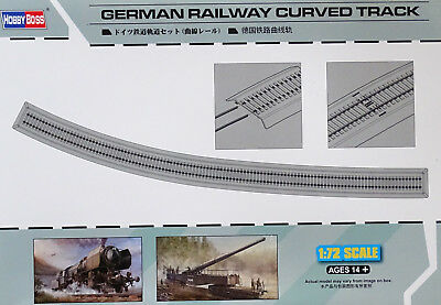 HOBBYBOSS® 82909 German Railway Turnout / Weichen in 1:72