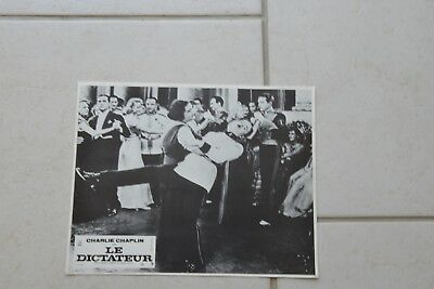 1 photo d'exploitation cinema Le dictateur 1940 Charlie Chaplin