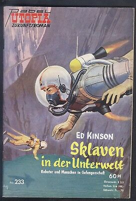 Utopia Zukunftsroman Nr.233 von 1959 - TOP Z1 Science Fiction Pabel Romanheft