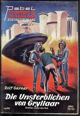 Utopia Zukunftsromane Nr.190 von 1956 - Z1-2 Science Fiction Pabel Romanheft
