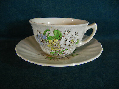 Royal Doulton Sutherland D6315 Cup and Saucer Set(s)