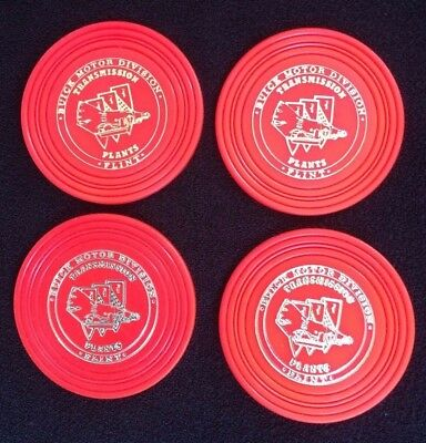 Vintage Rare  Buick Motor Division TRANSMISSION Flint, MI Advertisement COASTERS